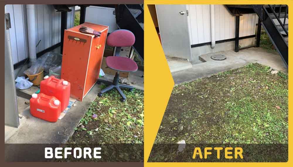 ゴミ屋敷化してしまったご実家の不用品とゴミの処理にお困りのお客様からご依頼いただきました。