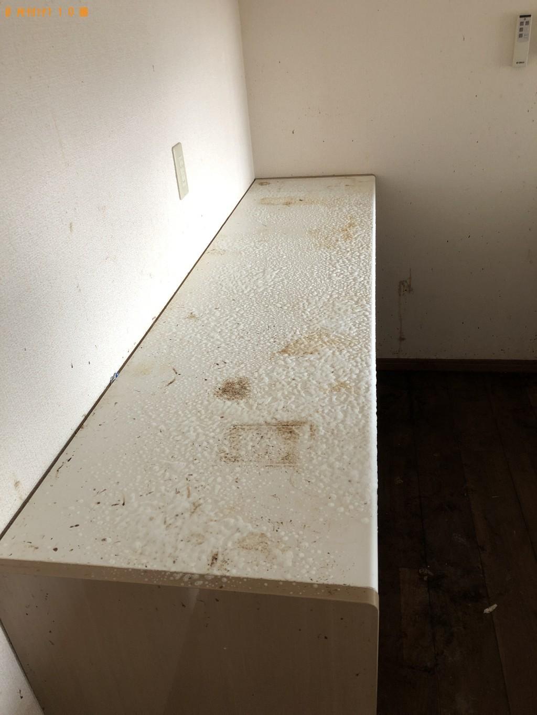 ゴミ屋敷状態だったのを片付けたので掃除をしてもらいたい。