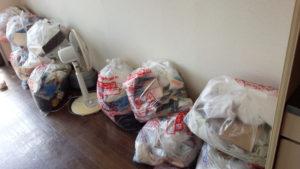 名古屋市にて扇風機や家庭ゴミなどの回収処分ご依頼 お客様の画像