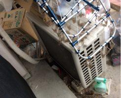 豊橋市前田南町でエアコンの取り外し回収 施工事例紹介