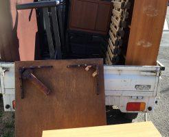 【豊橋市大崎町】軽トラック1台程度の不用品回収☆変更した不用品の量や内容に合わせ、安くなった料金にお喜びいただけました!