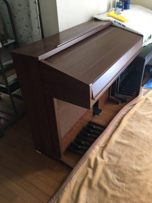 【愛西市】64kgのエレクトーンの回収ご依頼☆階段からのスムーズな運び出しにご満足いただくことができました。