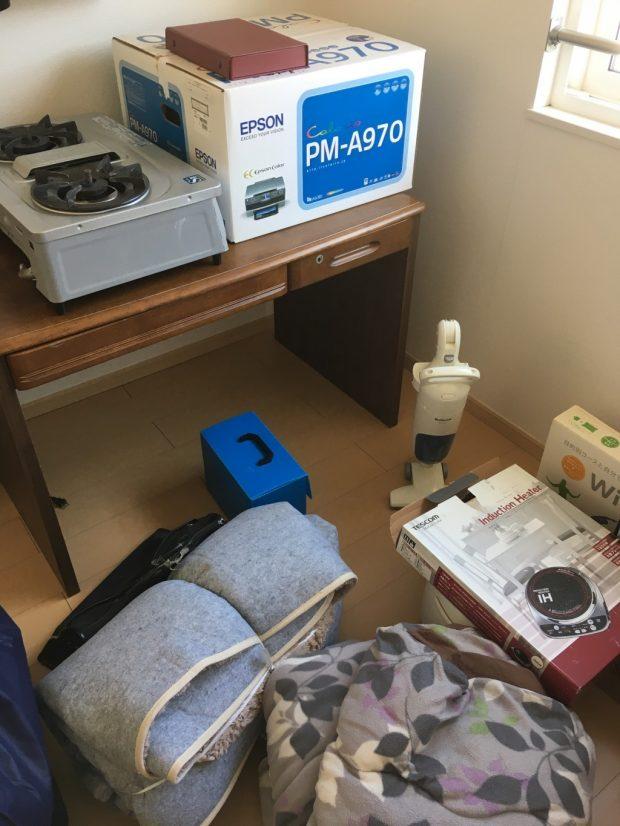 【豊田市広久手町】電化製品や日用品など、お引っ越しに伴う不用品回収☆作業直前に増えてしまった処分品もすべて回収し喜んでいただけたようです!