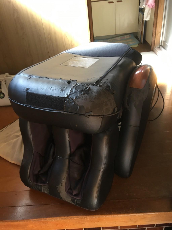 【北名古屋市】マッサージチェアの回収☆迅速で丁寧な対応に満足していただきました!
