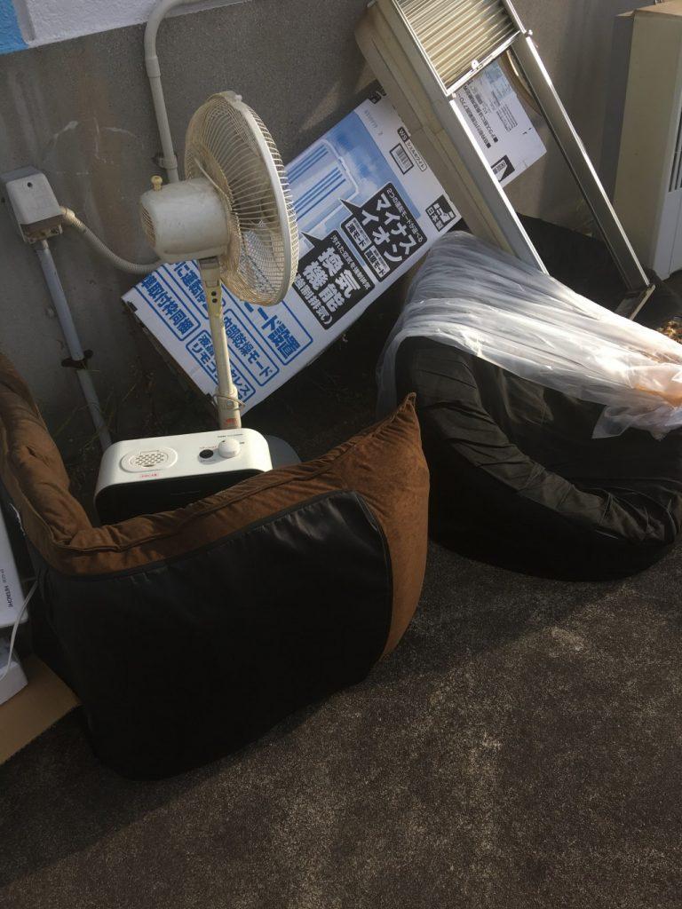 【豊田市】遺品整理で窓用エアコン、ソファーなどの出張不用品回収・処分ご依頼