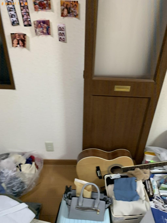 【名古屋市】ローテーブル、シングルベッド、カラーボックス等の回収