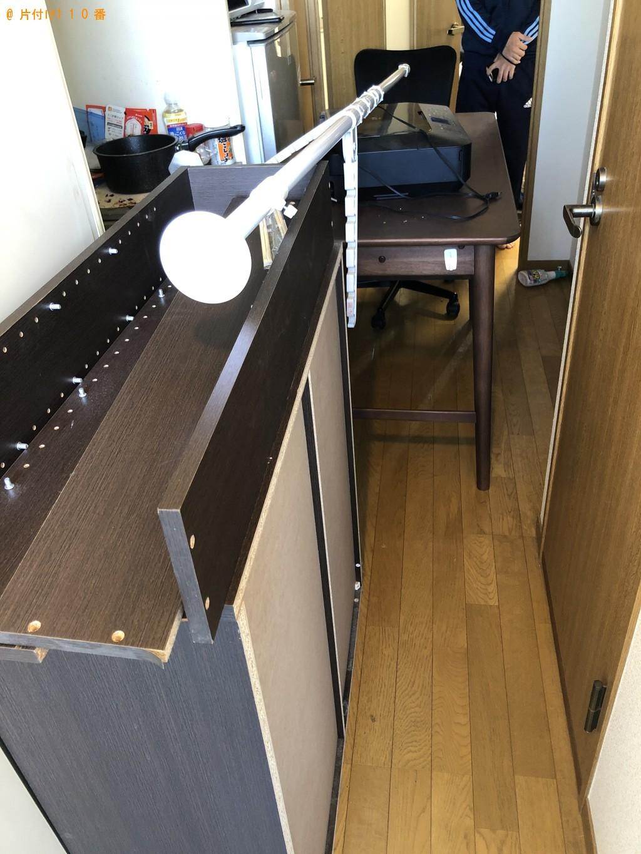 【名古屋市】プリンター、本棚、学習机、物干し竿の回収・処分ご依頼