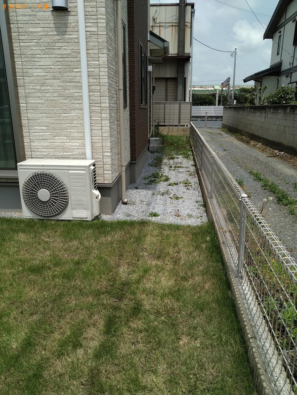 【名古屋市】芝刈り作業と刈った草の回収ご依頼 お客様の声