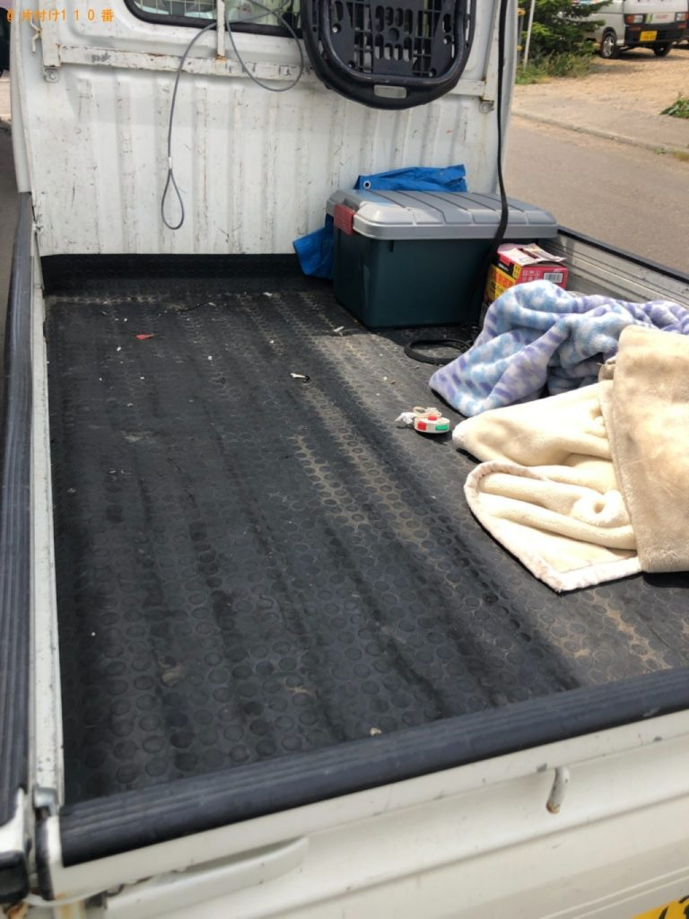 【安城市】洗濯機、布団、本棚、カーテン等の回収・処分ご依頼