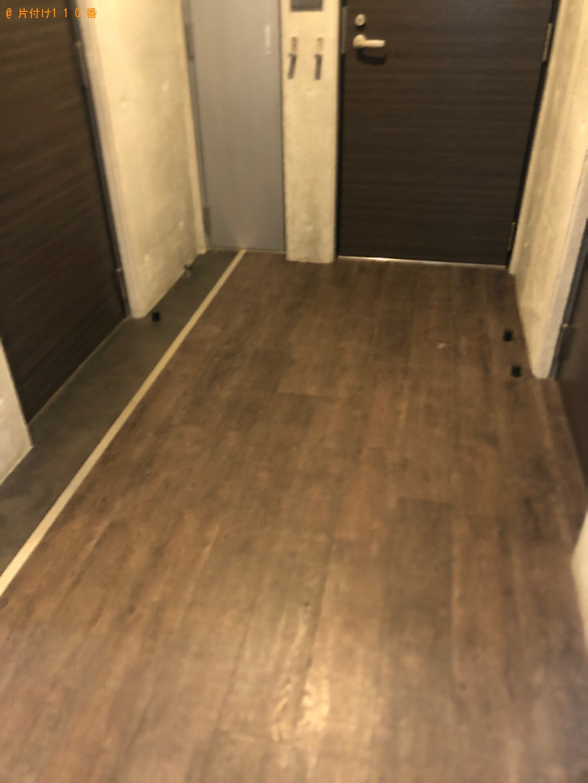 【豊川市】遺品整理で食器棚、ソファーの回収・処分ご依頼 お客様の声