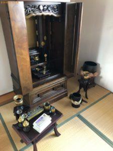 仏壇、ヒーター、収納ケース、布団等の回収・処分ご依頼