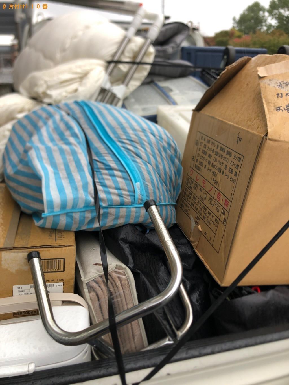 【豊川市】衣装ケース、布団、ペット用品、小型家電の回収・処分