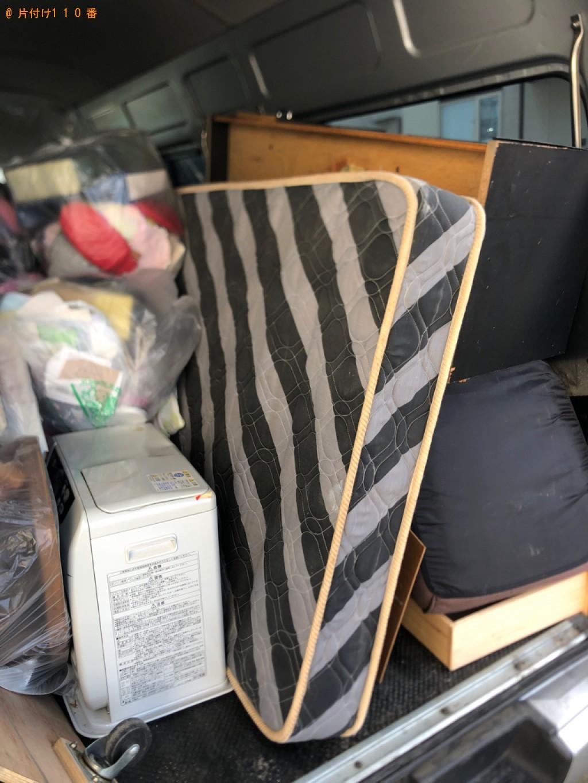 【名古屋市】本棚、マットレス付きシングルベッド、椅子等の回収
