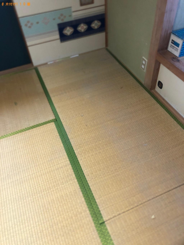 【名古屋市】マットレス付きキングサイズベッドの回収・処分ご依頼