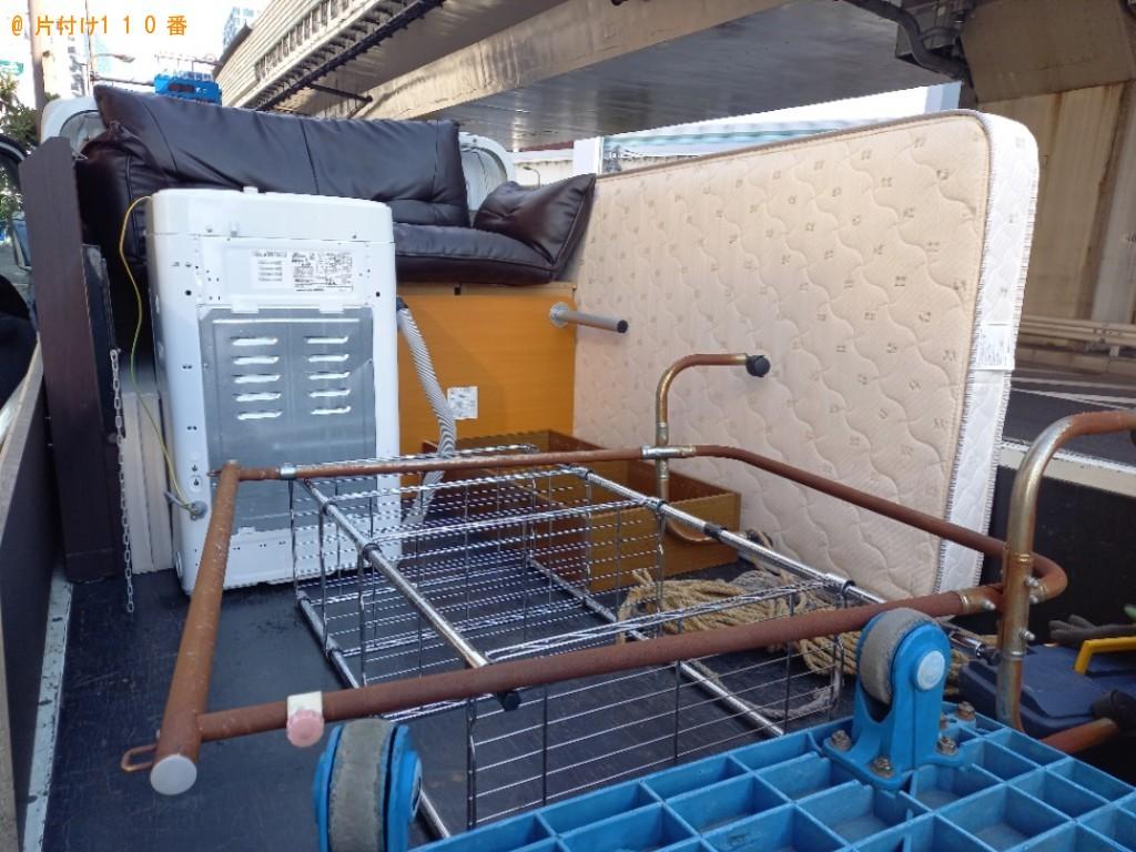 【豊橋市】遺品整理に伴い洗濯機、ソファー、家具等の回収・処分ご依頼