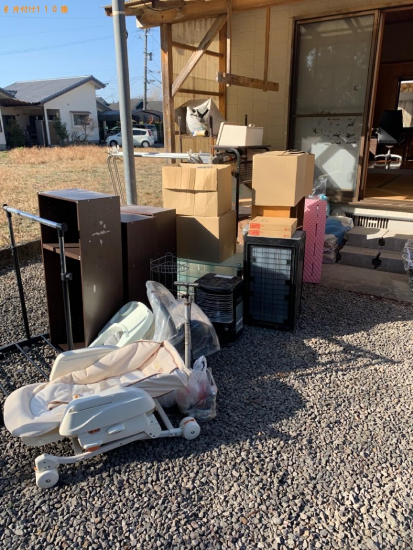 【名古屋市】カラーボックス、ストーブ、ベビーチェア―等の回収