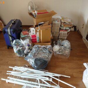 【名古屋市】照明、物干し竿、スーツケース等の回収・処分ご依頼