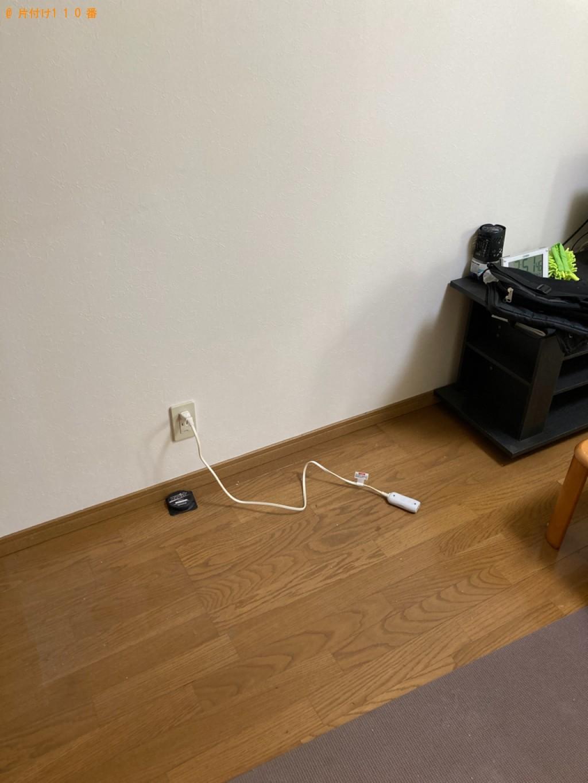 【名古屋市】冷蔵庫、洗濯機、二人掛けソファー、ラック等の回収