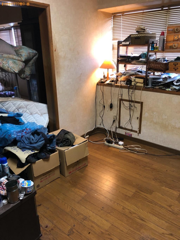 【名古屋市】セミダブルベッド、一般ごみの回収・処分ご依頼