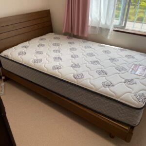 【名古屋市】マットレス付きダブルベッドの回収・処分ご依頼