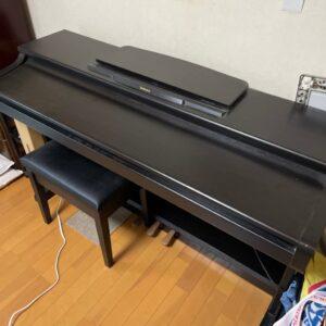 電子ピアノ、椅子の回収・処分ご依頼 お客様の声